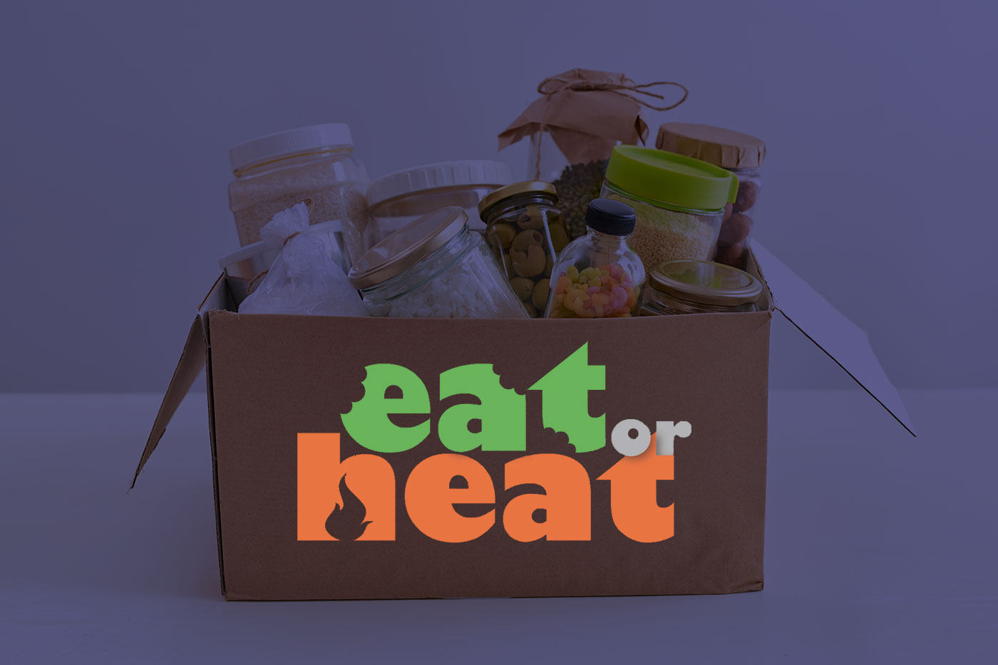 Eat or heat image